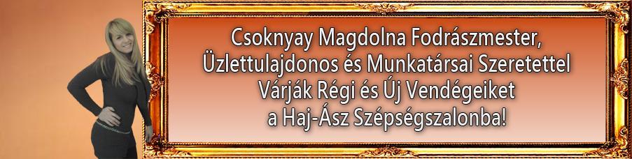 Csoknyay Magdolna Fodrászmester